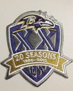 341dad003 Stitched Baltimore Ravens 1996-2015 20th Seasons Jersey Patch Patrick  Willis