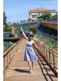 MartaGonfi Outfit   Verano 2012. Combinar Tacones-Plataformas Negras Marypaz, Vestido Negro LOREAK MENDIAN, Cómo vestirse y combinar según MartaGonfi el 14-8-2012