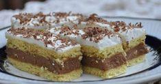 Kipróbált, hagyományos receptek Hozzávalók: 50 dkg liszt, 15 dkg margarin, 15 dkg porcukor, 2 csomag sütőpor, 3 tojássárgája és annyi tej... Crazy Cakes, Dessert Recipes, Desserts, Tiramisu, Cheesecake, Food And Drink, Biscuit, Sweets, Cookies