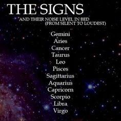Best zodiac signs in bed