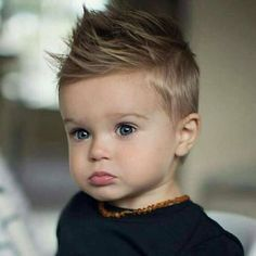 Finding a simple cute little boy haircut isn't easy. Take a peek at these short and long little boy hairstyles that'll make your youngster look lively. Little Boy Outfits, Little Boy Fashion, Toddler Boy Outfits, Baby Boy Fashion, Fashion Kids, Boy Toddler, Fashion Clothes, Toddler Boy Clothing, Toddler Boy Pictures