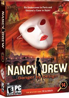 Nancy Drew: Danger by Design computer game. Go Undercover in Paris and Unravel a Case in Style! http://www.herinteractive.com/Mystery_Games/Nancy_Drew/Danger_by_Design/pc