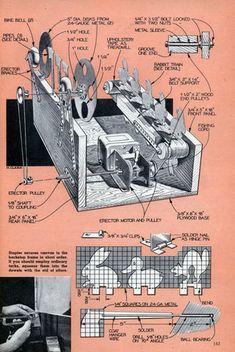 Build an Air-Rifle Shooting Gallery (Dec, 1953)