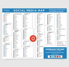 Are you lost in the world of social media? You need a map? This one will help you!   Overdrive Interactive http://www.ovrdrv.com/social-media-map