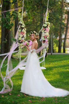 декор качелей цветами и лентами: 15 тыс изображений найдено в Яндекс.Картинках