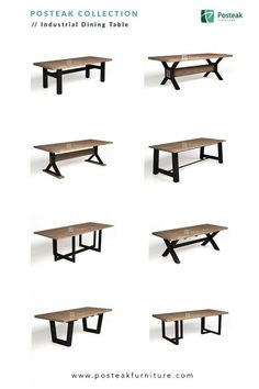 Indonesia furniture industrial dining table made of solid wood with combination of metal indonesiafurniture industrial table irontable diningtable moderntable modernfurniture industrialfurniture solidwoodfurniture Vintage Industrial Furniture, Metal Furniture, Dining Furniture, Furniture Projects, Furniture Plans, Furniture Design, Diy Furniture, Garden Furniture, Antique Furniture