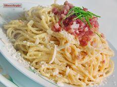Spagetti carbonara ( szénégető) módra