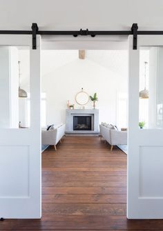 White Barn Doors | Coco & Jack