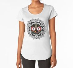 'Jagannath Lord' Graphic T-Shirt Dress by Lövei Éva T Shirt, Shirt Dress, Shirt Designs, Stuff To Buy, Color, Tops, Dresses, Women, Fashion