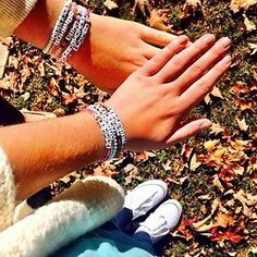 Love this sorority arm-candy! Great sisterhood event idea! Contact us with inquiries- info@littlewordsproject.com