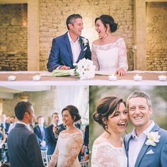 A look back at my first wedding at The Great Tythe Barn in Tetbury four years ago in 2013!  The fab Helen and Simon!