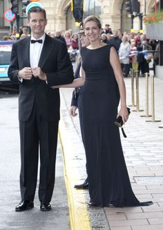 Infanta Cristina Of Spain And Husband Inaki Urdangarin Leave The Grand Hotel Stockholm To Attend A Government Dinner At The Eric Ericson Hall...