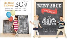 #iShopinternational.com Shop International! Shop from the USA #Baby #Sale 30-40% OFF  >>http://bit.ly/1us6vKA