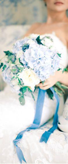 Wedding ● Bouquet ● Blue