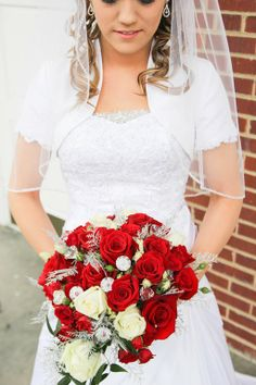 Bolero jacket to make wedding gown modest