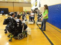 PUSH (People United for Sports and Health), a student organization at The College of Wooster, whose purpose is to raise awareness for adaptive sports. Photo by Angela Bases - Wooster Weekly News