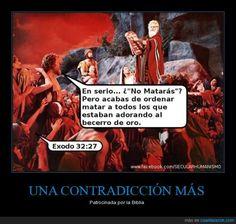 Haz lo que yo diga, pero no hagas lo que yo haga, hombre yaaaaa... - Patrocinada por la Biblia