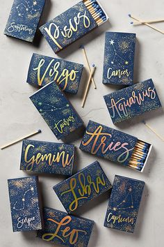 A book of matches. | 32 Zodiac Gifts For The Astrology-Obsessed