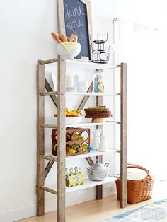 Turn a unique vintage buy into a functional storage piece with farmhouse style. Our quick instructions make it easy!