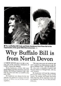 Newspaper Article about the author of Poems and Tales of the Old West, Robin 'Cody' Sanderson. August 5th 1999.  http://www.lulu.com/shop/robin-sanderson/poems-and-tales-of-the-old-west/paperback/product-22353725.html
