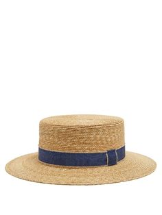 GABRIELLE'S AMAZING FANTASY CLOSET | Filù Hats Cordoba wheat-straw hat