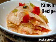 kimchi recipe by ecokaren