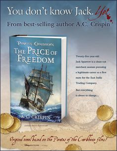 A.C. Crispin - Science Fiction Fantasy Author love this book, very nice back story of Jack Sparrow  i've read 3 other of A.C. Crispin books and all have been excellent reads.