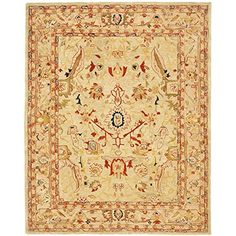 Safavieh Anatolia Collection AN514A Handmade Hand-Spun Wool Area Rug, 9-Feet 6-Inch by 13-Feet 6-Inch, Ivory and Beige Safavieh http://www.amazon.com/dp/B004IKB73C/ref=cm_sw_r_pi_dp_3CPEub1T7A1MZ