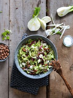 Summer Salad with Cherries and Black Lentils. - The Pretty Bee