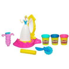 Brinquedo Play Doh Disney Princess Spin & Style Cinderella Set #Brinquedo #Play Doh