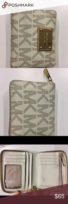 Michael Kors Wallet Used Michael Kors Wallet. Still in great condition! Minor cosmetic wear. Michael Kors Bags Wallets
