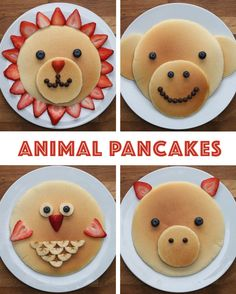 Animal Pancakes https://www.facebook.com/shorthaircutstyles/posts/1759822097641563