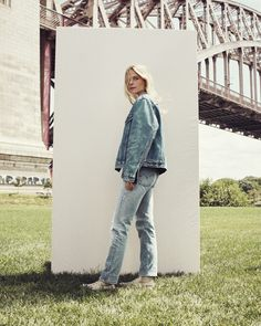 As classic as they come. Levi's 501 Jeans are your festival season essential. Dress them up with a pretty, white top for spring or throw on a denim jacket for casual Friday.