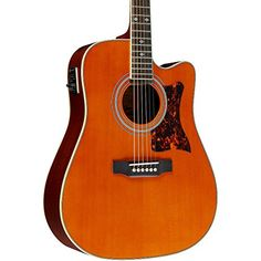Epiphone DR-500MCE Dreadnought Acoustic Electric Guitar, Natural Reviews           $ 599.00 Acoustic-Electric Guitars Product Features Quality vintage-style Grover Sta-Tite 18:1 ratio machine heads Imitation tortoise pickguard, nickel hardware Bound body, neck and headstock NanoFlex uses unique flexible sensing material featuring integrated active electronics NanoMag has 3 Samarian-Cobalt magnets and integrated active circuit to capture a range of harmonics Acoustic-Electric ..