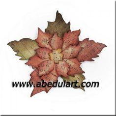 Troquel Bigz – Flor de Pascua (Poinsettia)