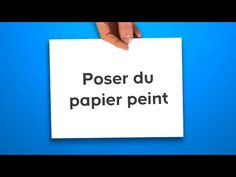 Poser du papier peint (Castorama) - YouTube