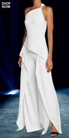 Latest Fashion Clothes, Look Fashion, Fashion Design, Hijab Fashion, Jumpsuit Elegante, Strapless Dress Formal, Formal Dresses, Maxi Dresses, Mode Hijab