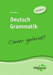 Deutsch Grammatik – Clever gelernt | Deutsch | Nach Fach | Unterrichtsmaterialien, Arbeitsblätter & Übungsblätter | Mein-Unterrichtsmaterial.de
