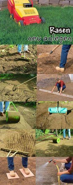 Rasen selbst anzulegen, ist nicht schwer. Wir zeigen Schritt für Schritt, wie auch bald in deinem Garten ein sattes Grün wächst.