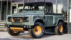 Is Land Rover Defender Pick Up Kahn Design The Best Looking Land Rover?