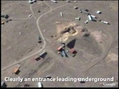 Area 51 - Strange activity. Up Close Observation of Unknown Structures within The Top Secret Military Facility.