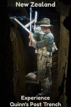 Created by Sir Peter Jackson, this realistic experience takes you through the trenches of WWI with all the sights, sounds and smells experienced by the soldiers.  via @Rhondaalbom