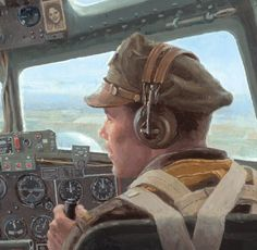 Almost Home by Gil Cohen (B-17)