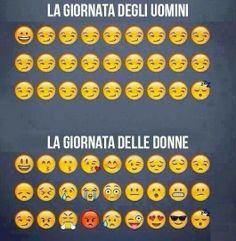 #donne vs #uomini