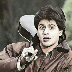 Bollywood Posters, Bollywood Actors, Bollywood Celebrities, Cute Girly Quotes, Shah Rukh Khan Movies, Cartoon Sketches, Cartoon Art, Best Hero, Sr K