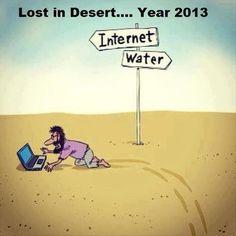 Lost in desert year 2013