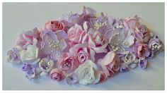Kwiaty z pianki foamiran.