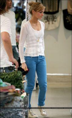 Celebrity Street Style Emma Watson