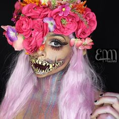 """eva.lamorte: """"A rustle in the wind reminds us a fairy is near  Omg! Thank you all so much for the love on my last post. She's definitely one of my fave looks!  Gah! Can I just tell u how much I'm loving my new Seashell wig from @lush_wigs  Mouth recreation of @jordanhanz Mileena tutorial.   products used:  1 @lunatick_cosmetic_labs contour pallette 2 @fxcosplay_ Fab metallic shimmer pallette  3 @makeupgeekcosmetics in bitten  4 @starcrushedminerals glitter in Small Town Starlet  5 @sugarpill…"""