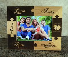 Together We Make A Family Puzzle Picture by Danielscustomgifts
